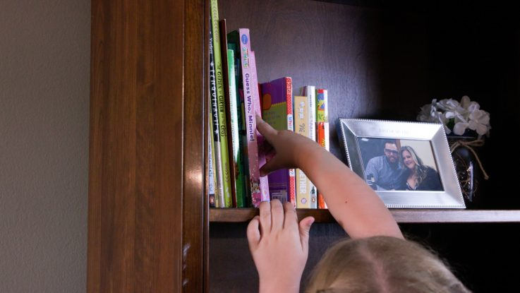 Furniture can quickly become dangerous when kids climb or pull themselves up to reach something. Experts at Nationwide Children's Hospital recommend that parents remove objects that could tempt small children to climb up to reach them and to anchor furniture and TVs to the wall to prevent them from tipping over.